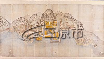 三原市の古地図