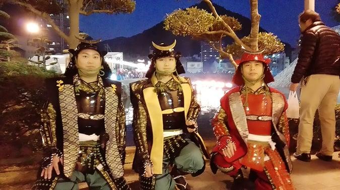 三原城築城450年祭 伝統芸能コラボ